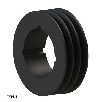 3槽 SPZ 窄V带轮 节径85mm SPZ85-03